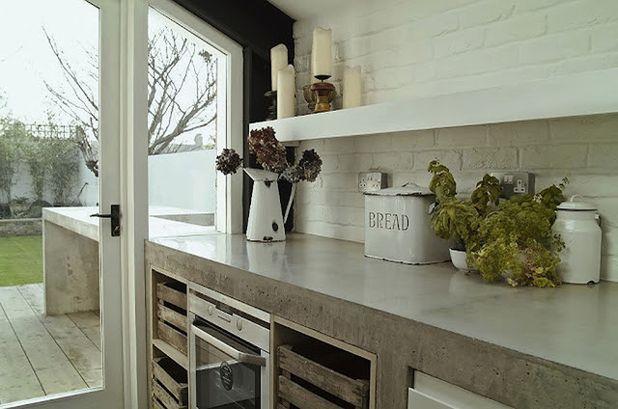modern industrial kitchen reno