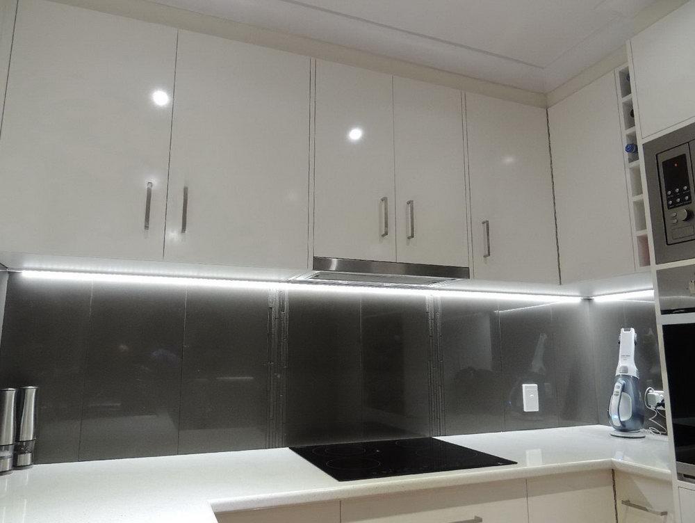 kitchen lighting and renovation